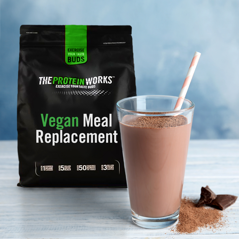 Vegan Meal Replacement, Chocolate, 1kg