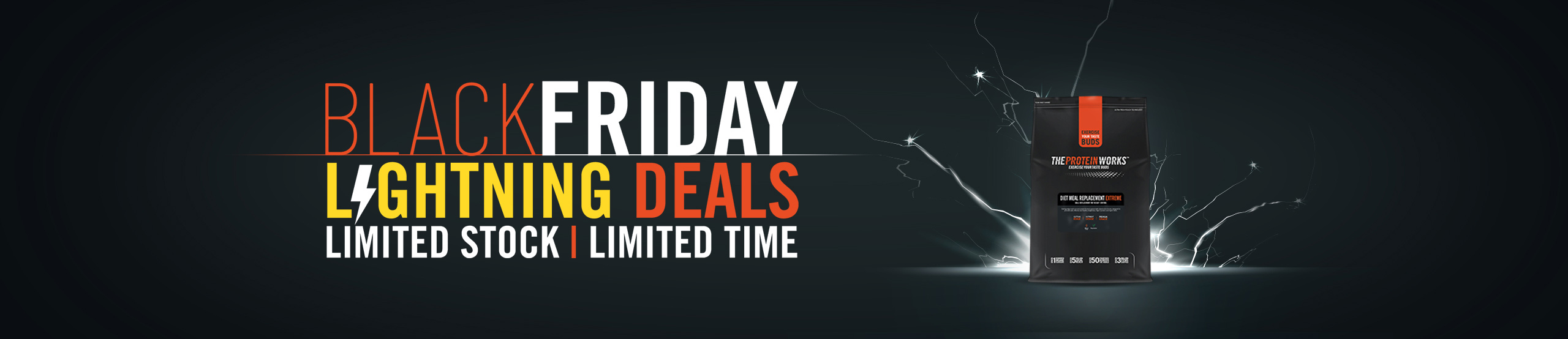 Black Friday Lightning Deals The Protein Works