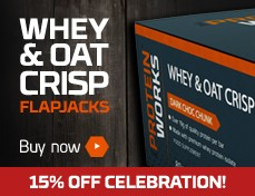 Whey & Oat Crisp Flapjack