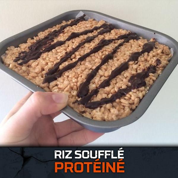 Riz Soufflé Protéiné