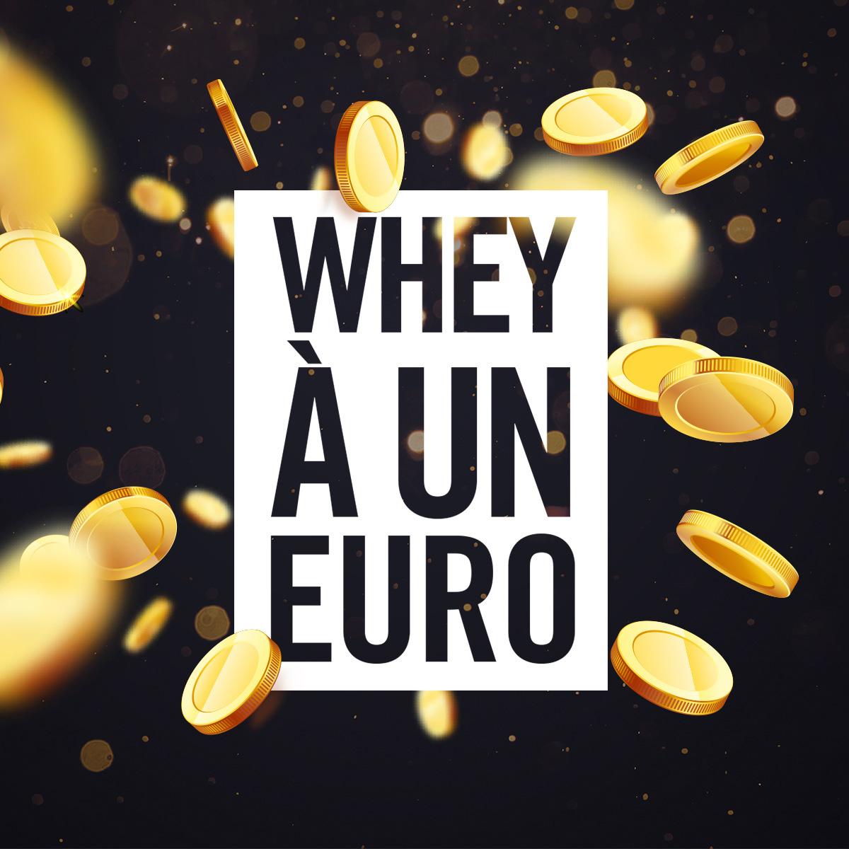 Whey à 1 €