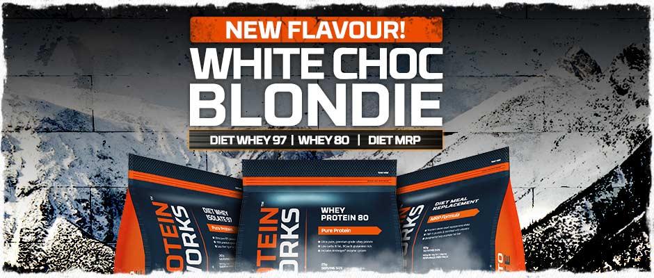 White Chocolate Blondie Flavour Whey Protein